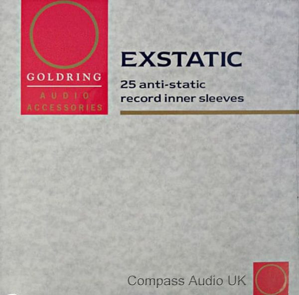 Goldring Exstatic Anti-Static Record Inner Sleeves