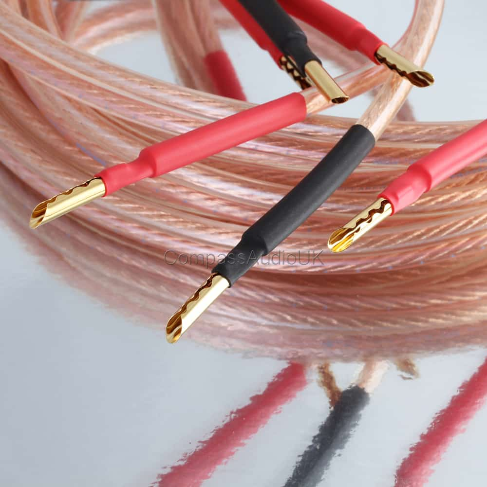 ofc speaker cable pro252 z type plugs terminated compass audio. Black Bedroom Furniture Sets. Home Design Ideas