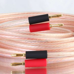 OFC SPEAKER CABLE PRO252 High Definition 504 Strand Plugs Terminated