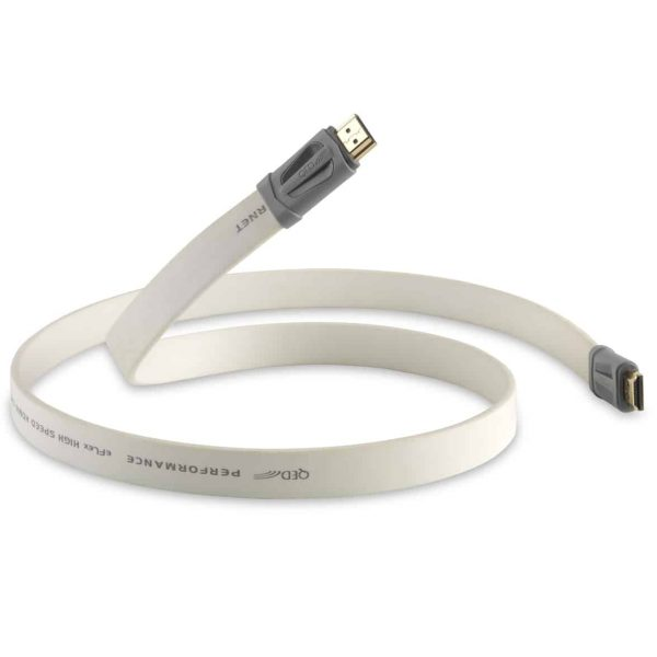 QED Performance e-FLEX HDMI Cable with Ethernet 3D 4K HD