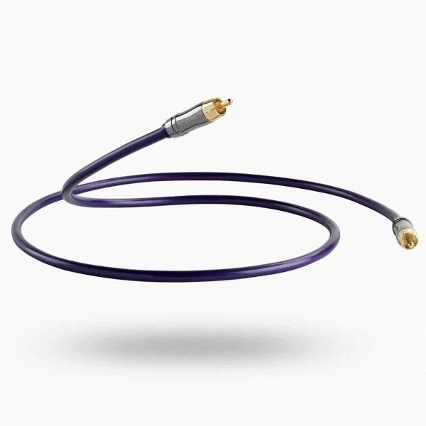 QED Performance DIGITAL Audio 75Ω Coaxial Custom Cable