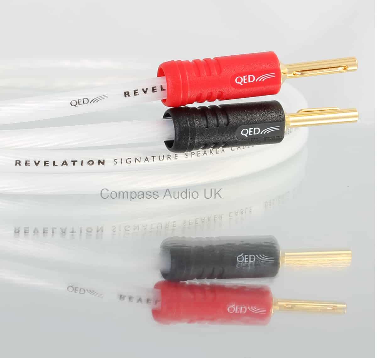 QED Signature Revelation Speaker Cable Airloc ABS Terminated ...