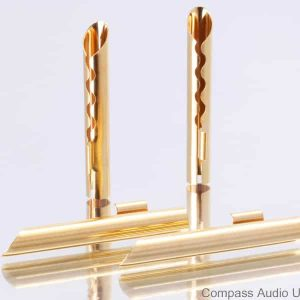 BFA Banana Plugs Beryllium Copper Gold Plated Z-type Connectors