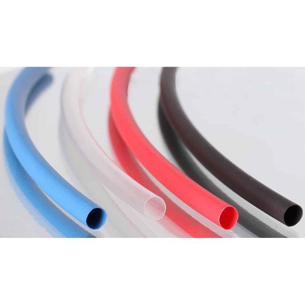 Heatshrink 6.4mm Insulating Tubing Red Black Blue Clear