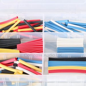 Heatshrink KIT 2:1 Assorted Colours Sizes