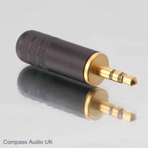 Switchcraft 35HDBAU Gold 3.5mm Stereo Mini Jack Plug