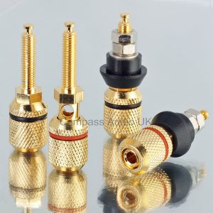 Heavy Duty 4mm BINDING POSTS Speaker Sockets