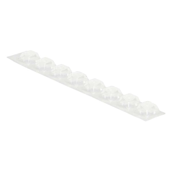 ISOLATING RUBBER FEET Clear 8 Pack