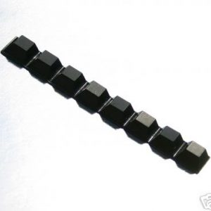 ISOLATING RUBBER FEET Black 8 Pack