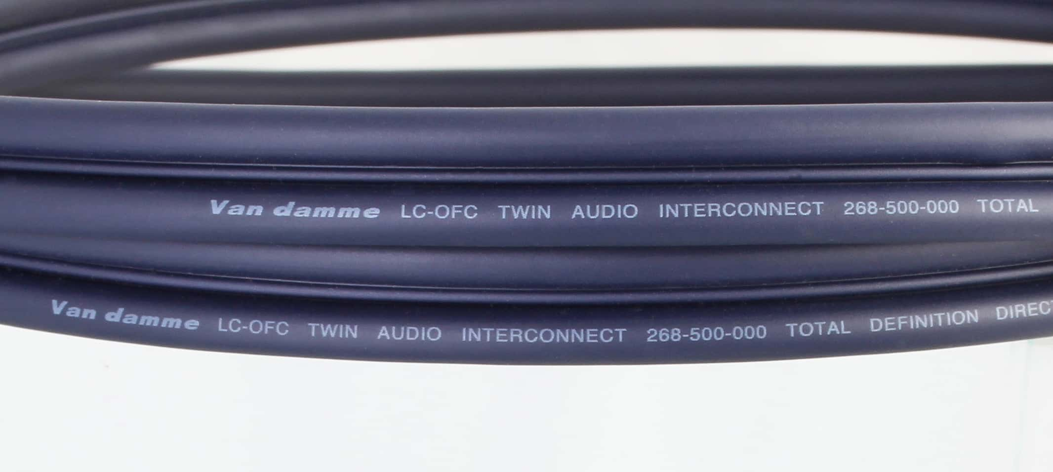 Van Damme Audio Interconnect Cable Neutrik Rean Phono Rca Plugs Plug Wiring