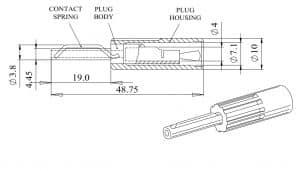 Deltron 580 Plug Dimensions