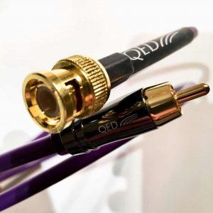 QED Performance DIGITAL Audio BNC RCA Connectors