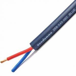 Van Damme Blue Series Studio Grade 4mm Twin Core Speaker Cable