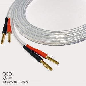 QED XT25 Performance Speaker Cable Crimped Banana Plugs